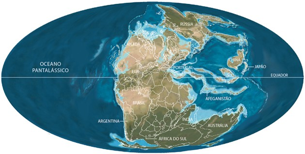mapa mundi geologia da terra