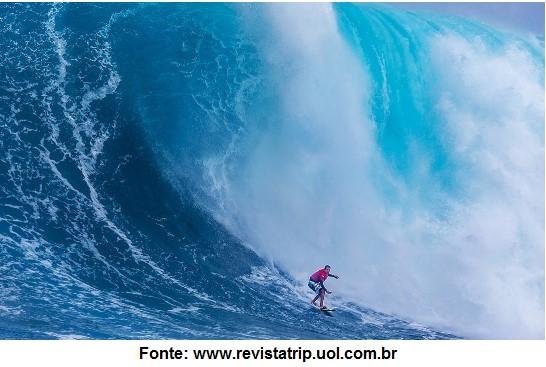 transformação de energia no surf