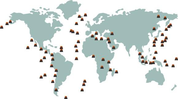 vulcoes na terra aula de geologia da terra