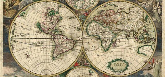 a evolução da cartografia