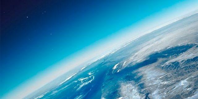 ilustração da atmosfera