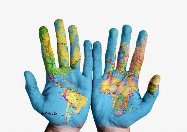 localização e coordenadas geograficas