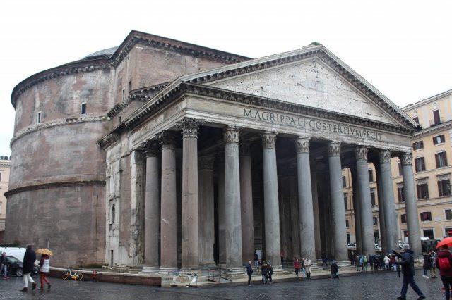 panteao e a arte romana