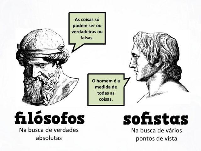 socrates fazia oposição aos sofistas