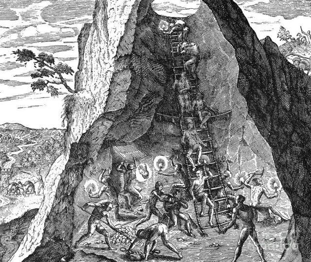 trabalho indigena na colonização espanhola