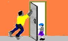exemplo de torque em uma porta