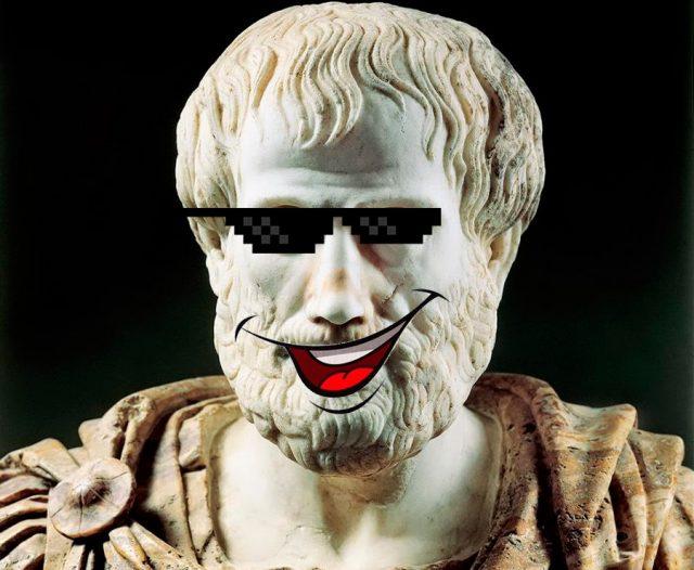 felicidade em aristóteles