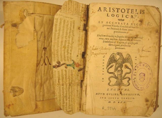 lógica de aristóteles (significado de lógica)