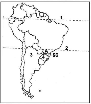 mapa da america do sul acafe