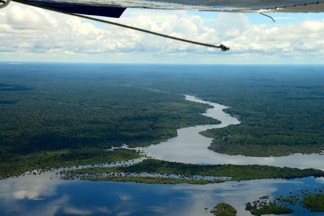 planicie do rio amazonas