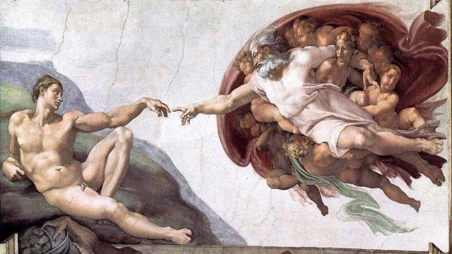 deus e adão