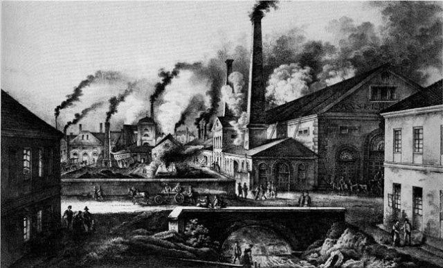 aula de industrialização