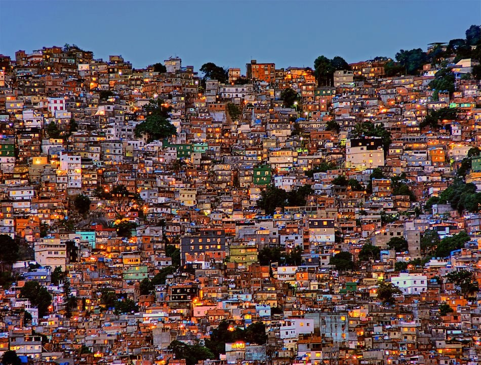 urbanização mundial (favela rj)