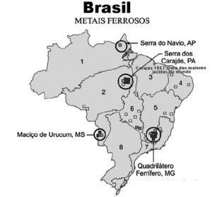 metais ferrosos no brasil