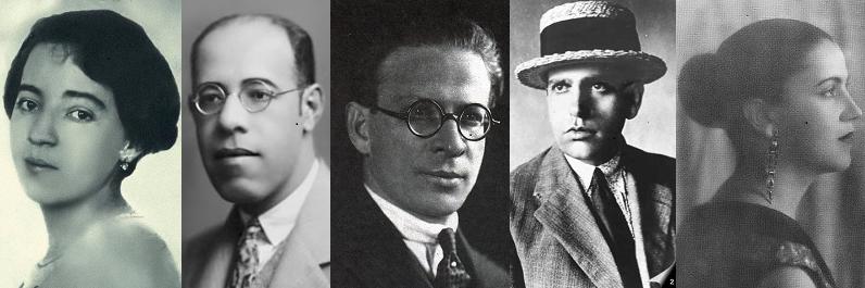 o grupo dos 5 modernismo