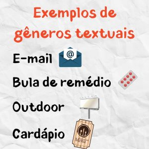 gêneros textuais