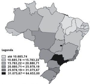 mapa brasileiro