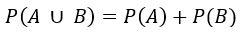 Probabilidade de união e intersecção de eventos