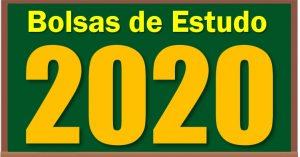 Bolsas de Estudo 2020