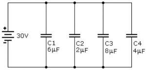 circuitos elétricos simulados