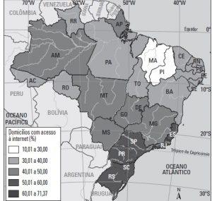 mapa idh