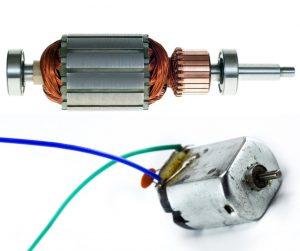 motor em circuitos elétricos