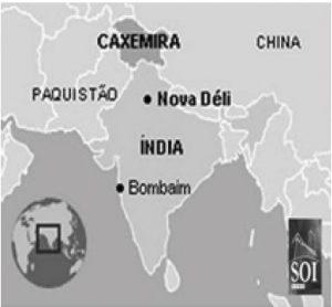 mapa caxemira