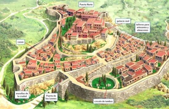 Micenas - civilização grega