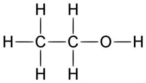 fórmula do etanol