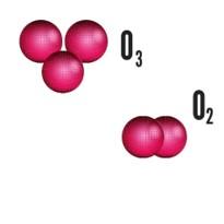 exemplo de alotropia oxigenio e ozonio