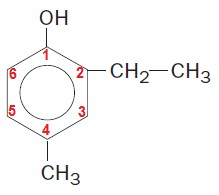 nomenclatura do hidroxi benzeno fenol