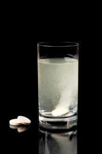 transformações químicas e a eferverscência de remédios