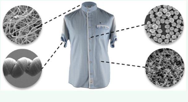 camisetas e nanotecnologia