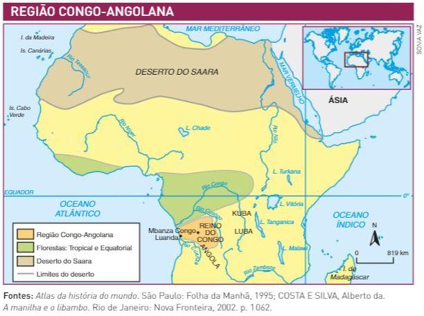 congo - reinos africanos