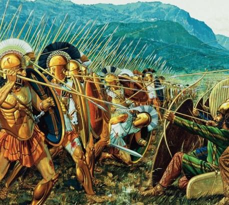 espartanos contra persas - período clássico