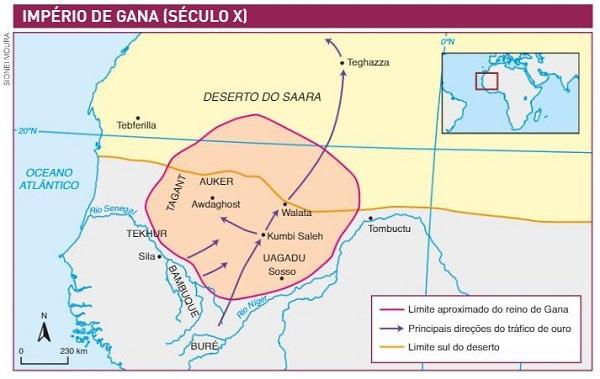 Gana - reinos africanos