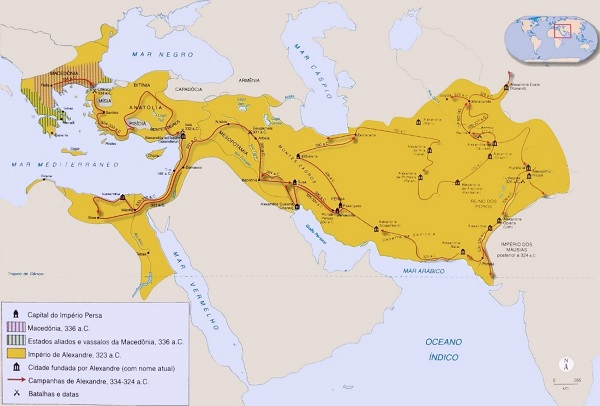 império macedônio - período clássico