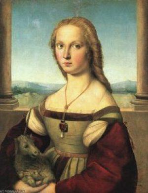 classicismo-dama-com-unicornio-rafael-sanzio