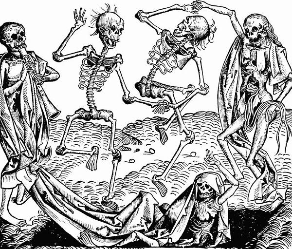 dança da morte - peste negra