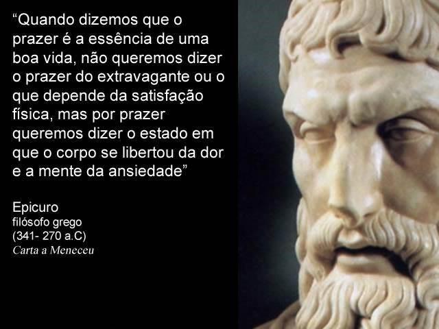 epicuro e sua filosofia