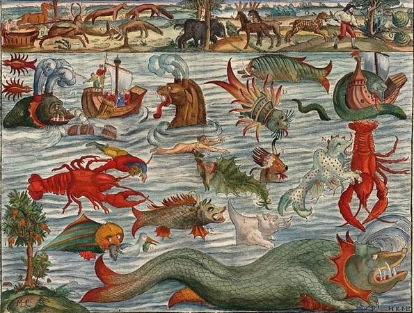 mar tenebroso - grandes navegações